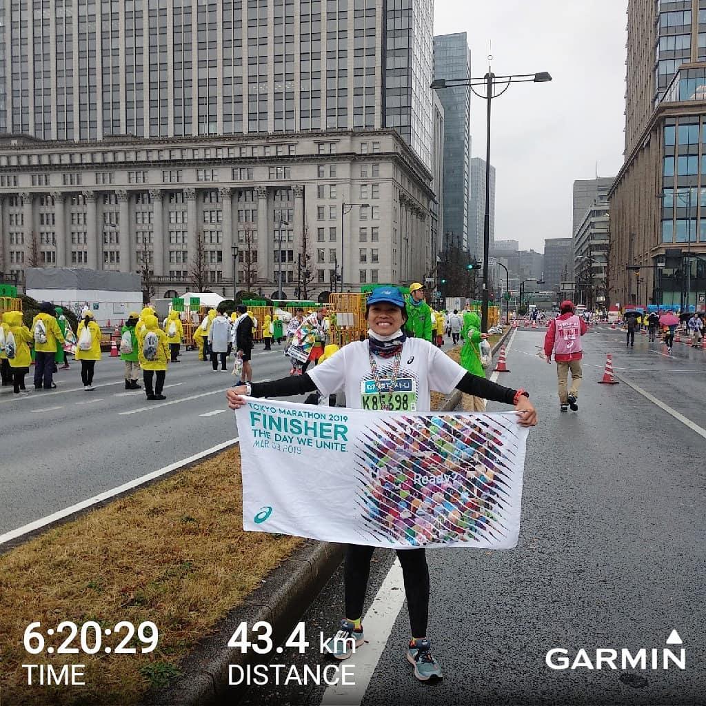 Cerita Desca Menaklukkan Dinginnya Tokyo Marathon 2019