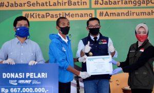 Pelari Indonesia Melawan Covid-19