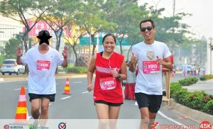Run To Honor Her Late Husband Benjie Llorente